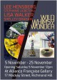 Exhibition invite- Wild Whimsy Wonder